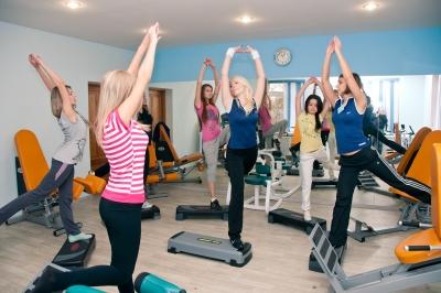 Dинамика фитнес-клуб
